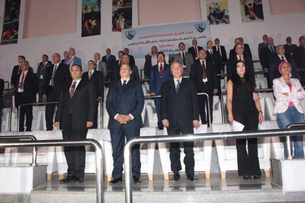 أفتتاح بطولة العالم لناشئات الطائرة تحت ١٨ عام