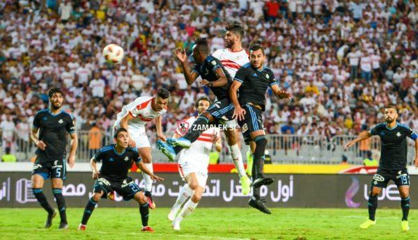 نتيجة مباراة الزمالك وبيراميدز في نهائي كأس مصر