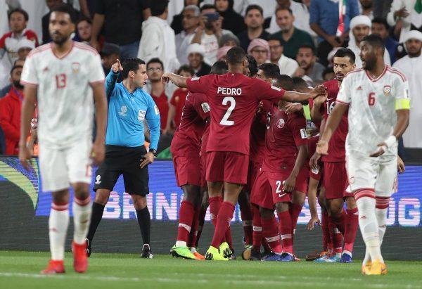 ملخص ونتيجة مباراة قطر ضد الإمارات