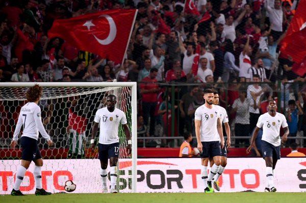 رابط سريع لمباراة فرنسا وتركيا بدون إعلانات ايجي ناو