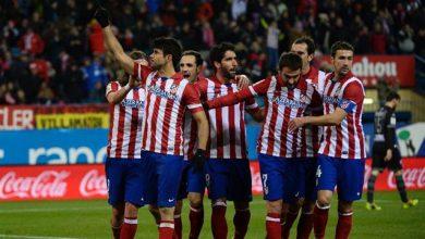 ملخص ونتيجة مباراة أتلتيكو مدريد ضد أوساسونا