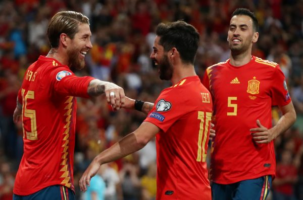 مشاهدة مباراة السويد وإسبانيا بث مباشر 15-10-2019