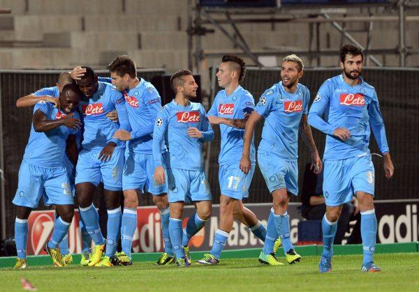 مباراة نابولي ضد إنتر ميلان