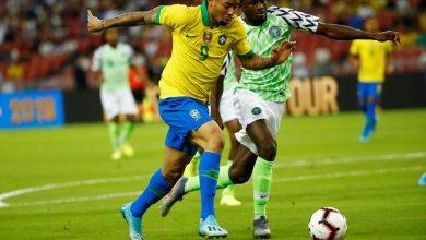 Photo of ملخص ونتيجة مباراة البرازيل ضد نيجيريا الودية