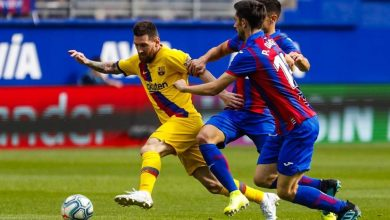 Photo of ملخص ونتيجة مباراة إيبار ضد برشلونة بالدوري الأسباني