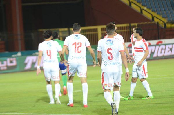 ملخص ونتيجة مباراة الزمالك ومصر المقاصة بالدوري الممتاز