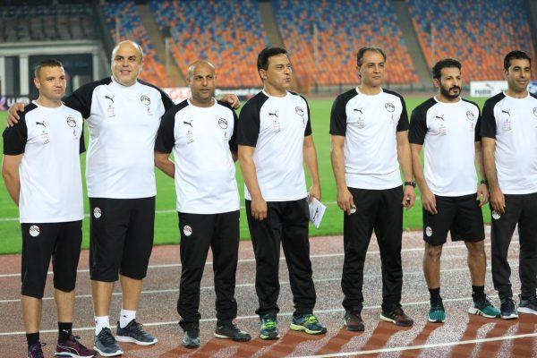 المنتخب الوطني يؤدي تدريبه الثاني بستاد القاهرة
