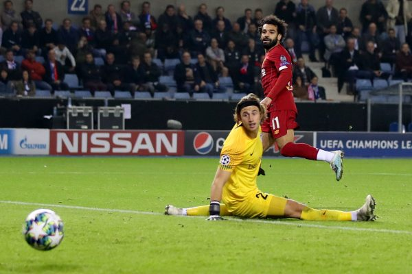 نتيجة وأهداف مباراة ليفربول ضد جينك في دوري أبطال أوروبا 2020