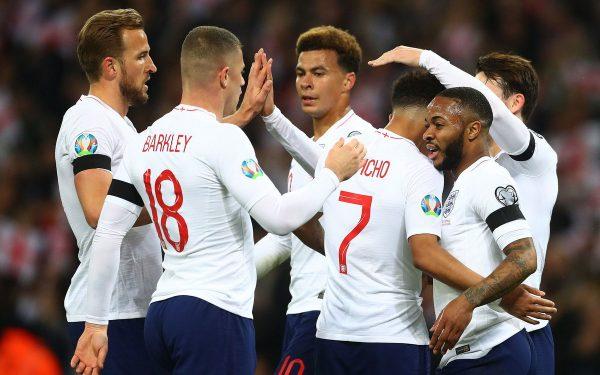 نتيجة وأهداف مباراة منتخب إنجلترا ضد الجبل الأسود