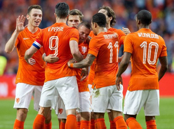 شاهد أهداف مباراة هولندا ضد أستونيا