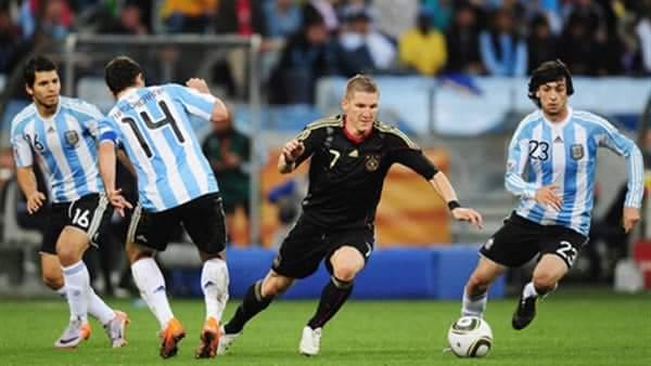 ملخص ونتيجة مباراة المانيا والأرجنتين الودية