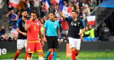 صورة ملخص ونتيجة مباراة فرنسا ضد تركيا في تصفيات الأمم الأوروبية