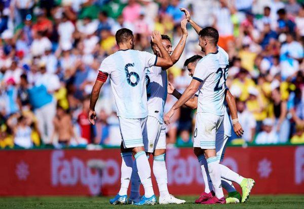 ملخص ونتيجة مباراة الأرجنتين ضد الإكوادور في مباراة ودية