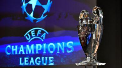 ترتيب مجموعات دوري أبطال أوروبا 2020 بعد الجولة الثالثة