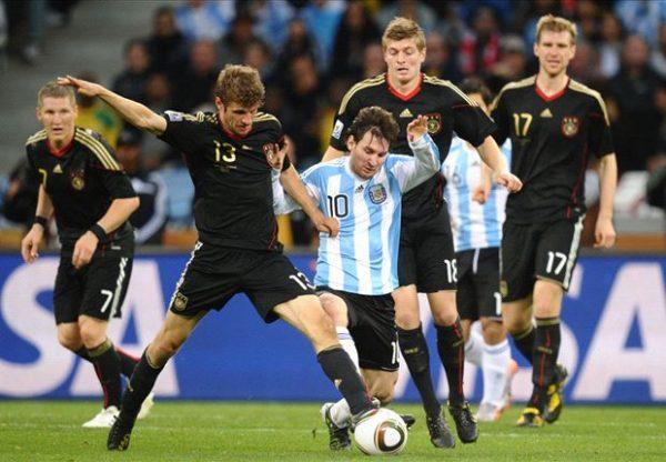رابط سريع لمباراة ألمانيا والأرجنتين بدون إعلانات ايجي ناو