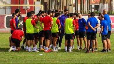 Photo of رينيه فايلر يحاضر لاعبي الأهلي استعدادا للجونة