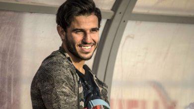حمدي فتحي يظهر بمران الأهلي قبل السفر لألمانيا