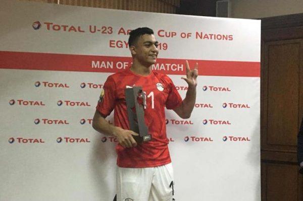 مصطفى محمد ينافس على لقب هداف بطولة أفريقيا تحت 23 سنة