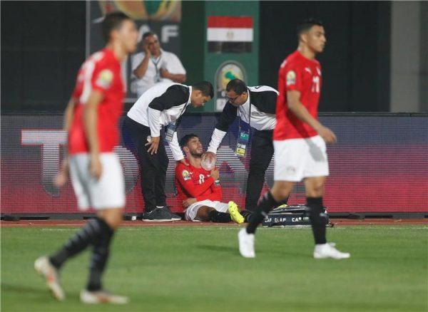 معتمد جمال : اصابة ناصر ماهر في أربطة الكتف ومصيره يتحدد خلال ساعات