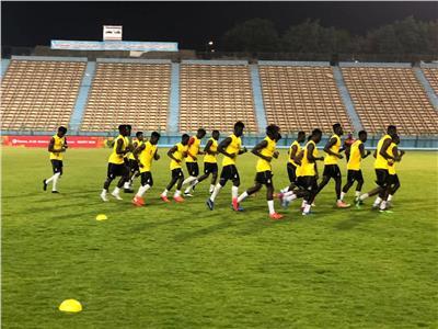 منتخب غانا يبدأ الاستعداد لمواجهة الفراعنة بأمم أفريقيا تحت 23 سنة