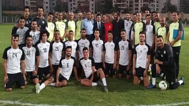 Photo of د.أشرف صبحى من مطار القاهرة الى معسكر المنتخب الاوليمبى