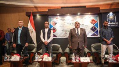 Photo of سيد عبد الحفيظ وحسام عاشور في ضيافة جامعة حلوان