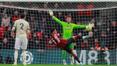 Photo of نتيجة واهداف مباراة مانشستر يونايتد ضد بورنموث في الدوري الانجليزي