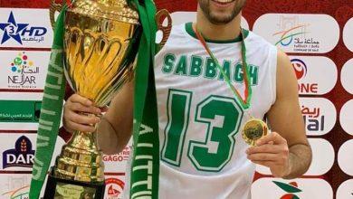 احمد الصباغ و كأس بطولة الأندية العربية لكرة السلة
