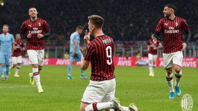 صورة نتيجة وأهداف مباراة ميلان ضد لاتسيو في الدوري الإيطالي