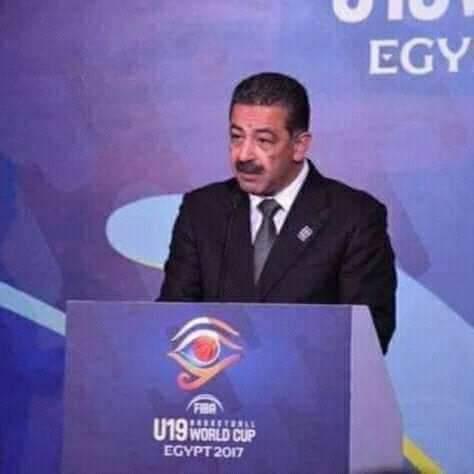 مجدي ابو فريخة رئيس اتحاد كرة السلة