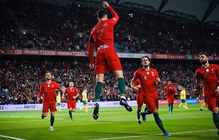 ملخص ونتيجة مباراة لوكسمبرغ ضد البرتغال في تصفيات كأس الأمم الأوروبية