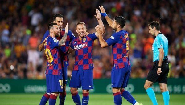 نتيجة وأهداف مباراة برشلونة ضد سيلتا فيجو