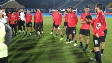 Photo of صور.. المنتخب الأوليمبي يواصل التدريبات باستاد السويس