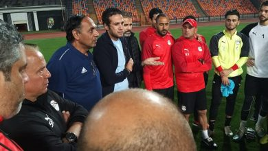 محمد فضل للاعبي المنتخب الأوليمبي:ننتظر منكم البطوله