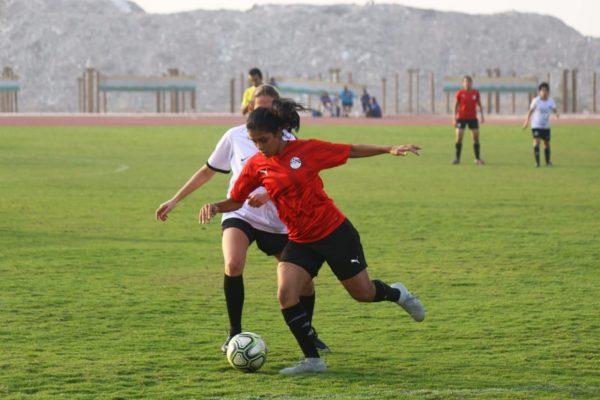 منتخب مصر للكرة النسائية تحت 20 سنة يتعادل مع الأميرية وديا
