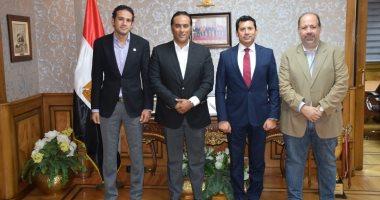 وزير الرياضة: مصر أصبحت ذات سمعة عالمية فى استضافة البطولات الرياصية ..وأشكر بريزنتيشن