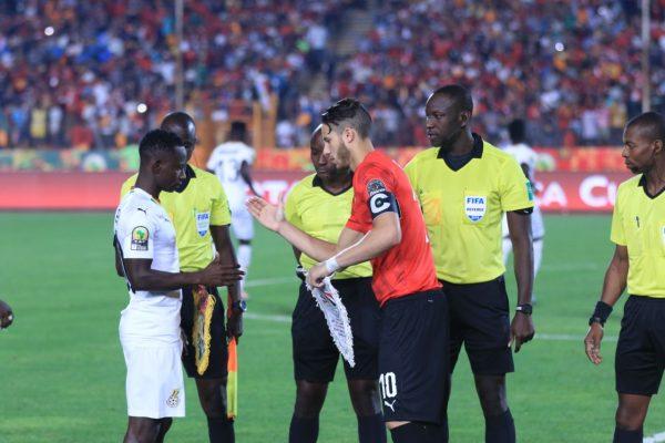 رمضان صبحي : الأداء جيد ورجولة اللاعبين كانت سبب الفوز اليوم على غانا