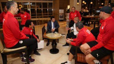 Photo of أشرف صبحي والجنايني يجتمعان للاعبي المنتخب الأوليمبي