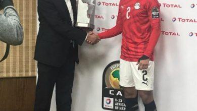 Photo of عمار حمدي افضل لاعب في مباراة مصر الأولمبي ضد جنوب أفريقيا