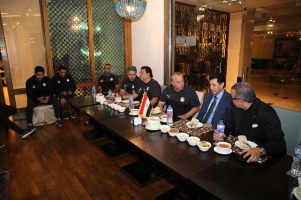 وزير الرياضة للاعبي المنتخب الاوليمبي ... أسعدتم الجميع بأدائكم الرجولي والجماهير المصرية تؤازركم غدا