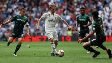 رابط ايجي ناو بث مباشر لمباراة ريال مدريد وريال بيتيس 02-11-2019