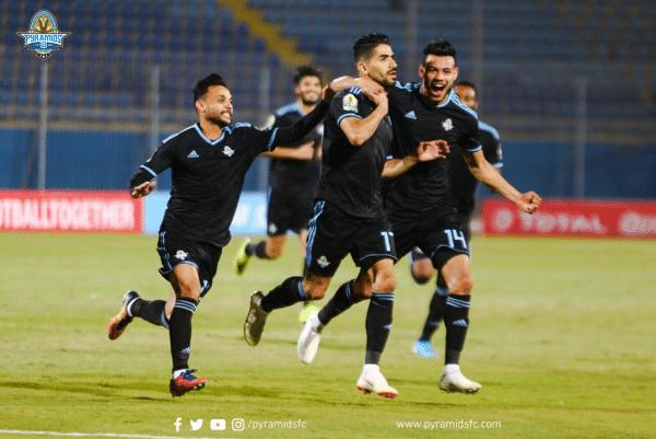 نتيجة مباراة بيراميدز ضد المقولون العرب في الدوري المصري