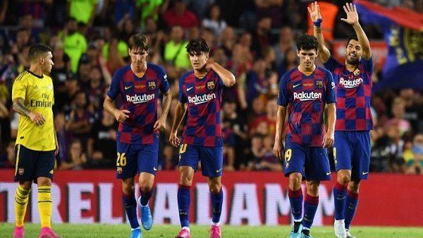 ملخص ونتيجة مباراة برشلونة ضد ديبورتيفو ألافيس