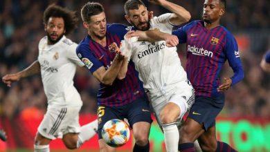 Photo of نتيجة واهداف مباراة برشلونة ضد ريال مدريد في الدوري الاسباني