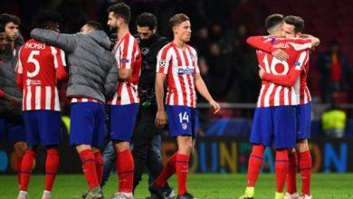 تشكيل أتلتيكو مدريد ضد ليفربول