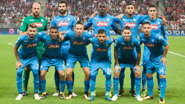 نتيجة مباراة نابولي ضد كالياري