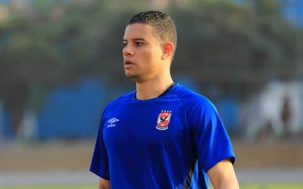 سعد سمير لاعب الأهلي يواصل العلاج البدني