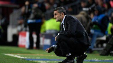 راديو كاتلونيا: إقالة فالفيردي من تدريب برشلونة رسميا
