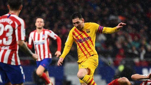 نتيجة مباراة برشلونة ضد أتلتيكو مدريد
