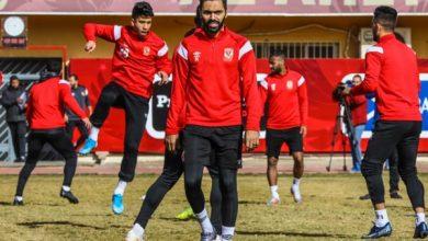 Photo of حسين الشحات يواصل التأهيل بمران الأهلي